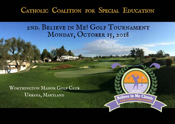 Register for our 2nd Believe in Me! Golf Classic