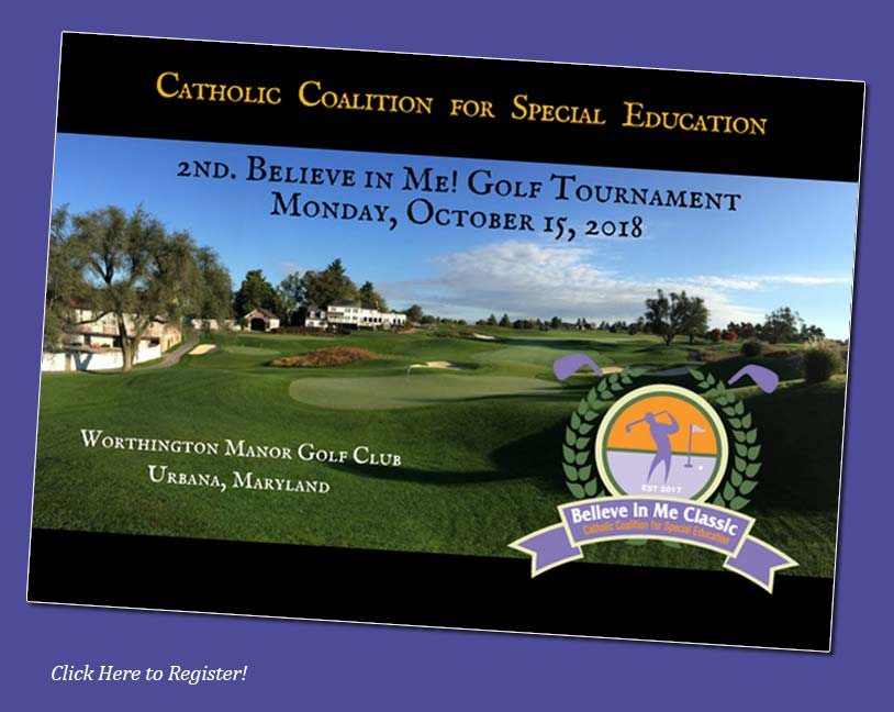 2nd Believe in Me! Golf Classic